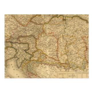 Mapas del imperio postal
