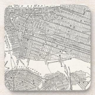 Mapas del mapa NYC de New York City Brooklyn de lo Posavaso