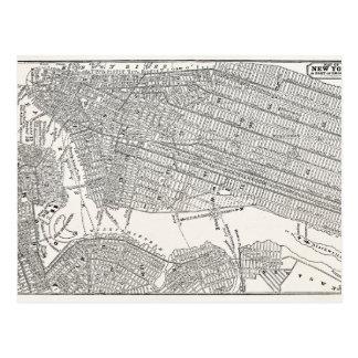 Mapas del mapa NYC de New York City Brooklyn de lo Postal