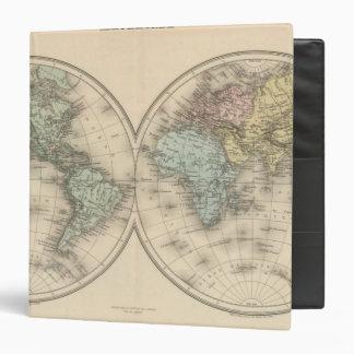"""Mapas del mundo carpeta 1 1/2"""""""