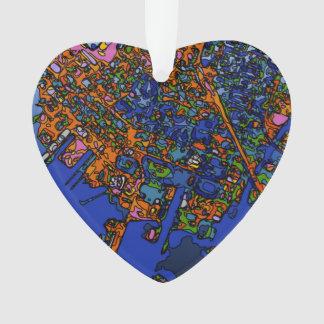 Mapas enrrollados NUEVA YORK