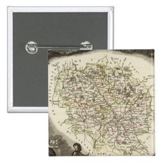 Mapas huecos pin cuadrado