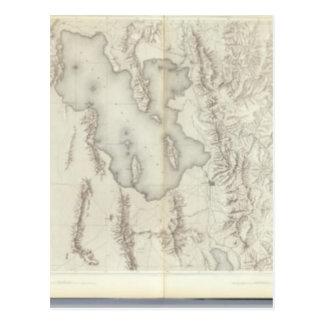 Mapas topográficos compuestos IV Postales