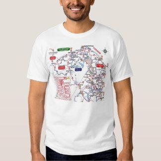 Mapgag's Of Maine Short sleeve T T-Shirt