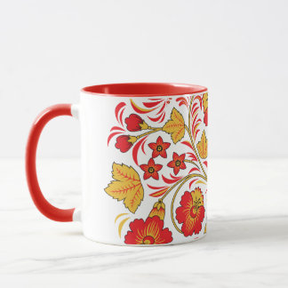 Maple Autumn Hohloma Mug