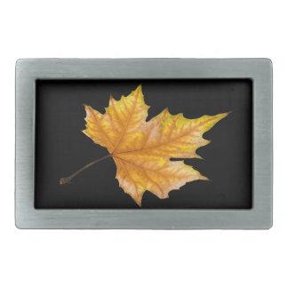 Maple Autumn Leaf Belt Buckle