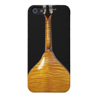 Maple back A-style mandolin iPhone 4 case
