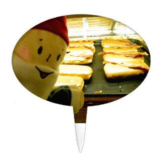 Maple Bacon Gnome Cake Topper