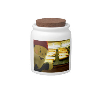 Maple Bacon Gnome Candy Jar