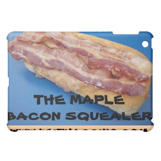MAPLE BACON SQUEALER LONG JOHN DONUT iPAD CASE | Zazzle