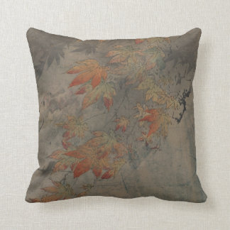 Maple Branch Throw Pillow
