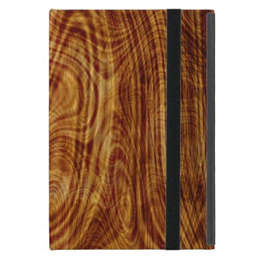 Maple Burlwood Nature Tree Wood Effect iPad Case