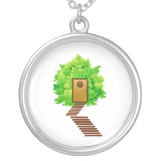 maple bush door stairs ecology image.png silver plated necklace
