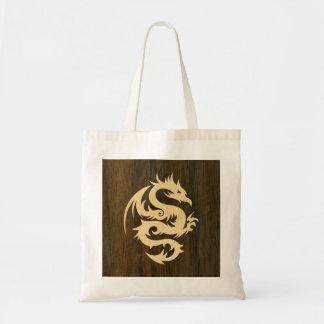 Maple Dragon Budget Tote Bag