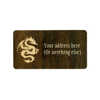 Maple Dragon Address Label