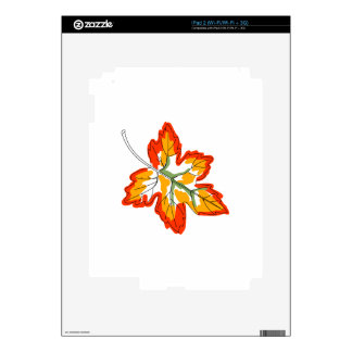Maple Fall Leaf Decal For The iPad 2