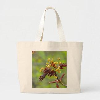 Maple Flowers Tote Bag