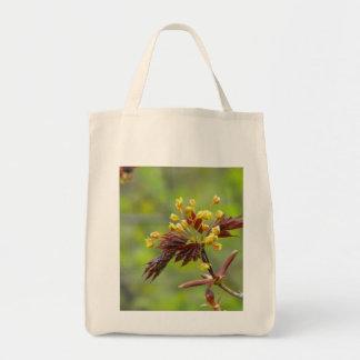 Maple Flowers Canvas Bag