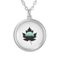 Maple Forest Silver Plated Necklace