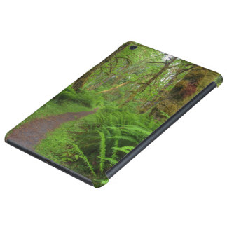 Maple Glade trail, ferns and moss covered iPad Mini Retina Cases