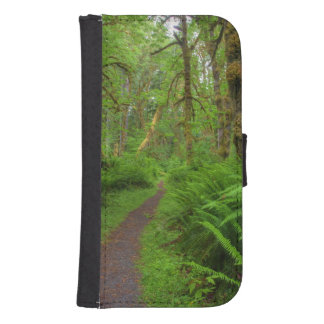Maple Glade trail, ferns and moss covered Phone Wallet