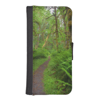 Maple Glade trail, ferns and moss covered Phone Wallets