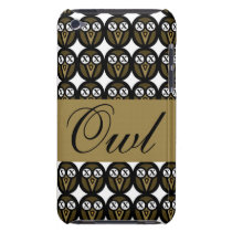 Maple Gold Owl iPod touch case