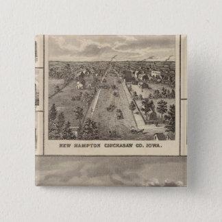 Maple Grove Herd, Cedar Co New Hampton Pinback Button