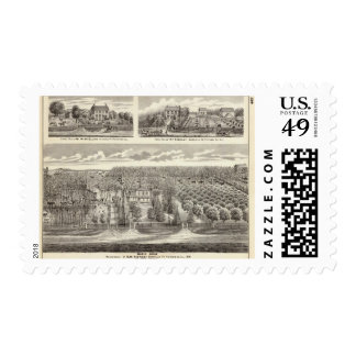 Maple Grove residence Postage