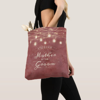 Maple Grove String Light Mother of the Groom Tote Bag