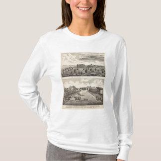Maple Hilland Silver Spring Ranch, Kansas T-Shirt