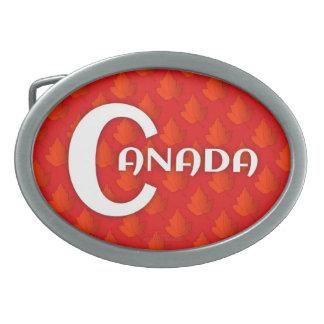 Maple Leaf Belt Buckle
