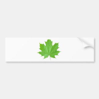 Maple Leaf Bumper Sticker