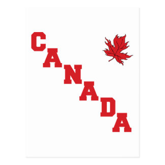 Maple Leaf Canada Postcard