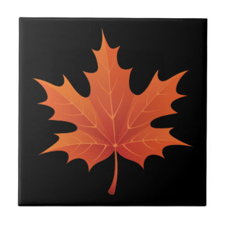 Maple Leaf Ceramic Tile