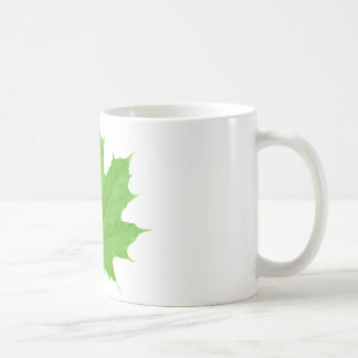 Maple Leaf Classic White Coffee Mug