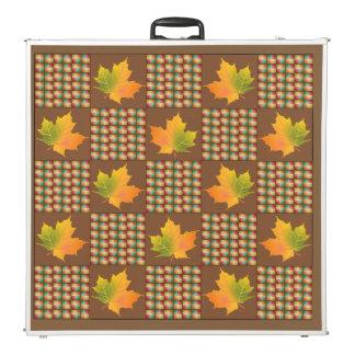 Maple Leaf Color Weave Pong Table