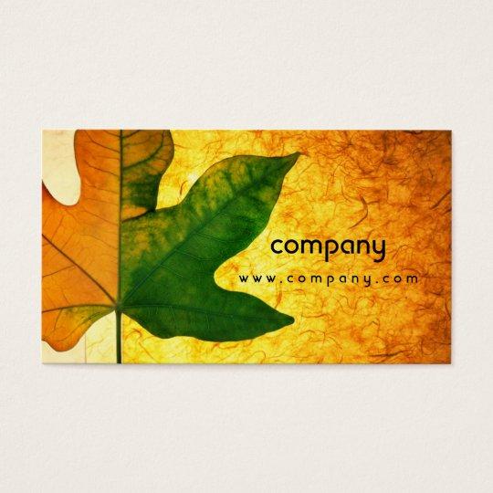 Maple Leaf Creative Eye-Catching Business Card