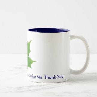 Maple Leaf Cup Two-Tone Coffee Mug