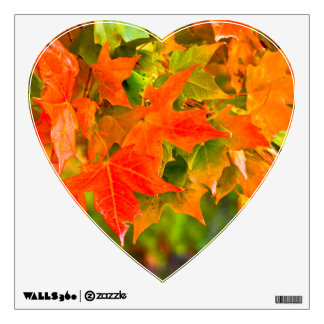 Maple Leaf Dance Wall Decal