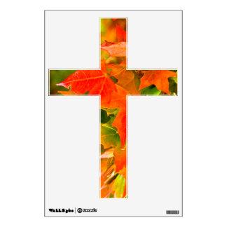 Maple Leaf Dance Wall Sticker