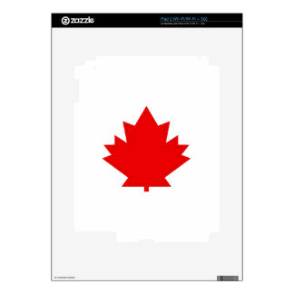 Maple Leaf Decals For The iPad 2