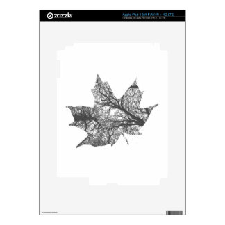 Maple Leaf Design Decals For iPad 3