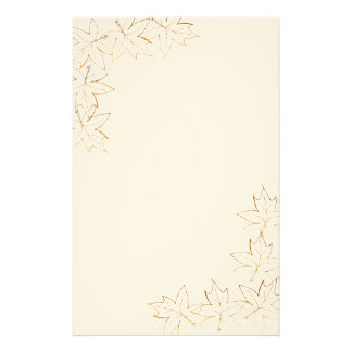 Maple Leaf Edge Stationery