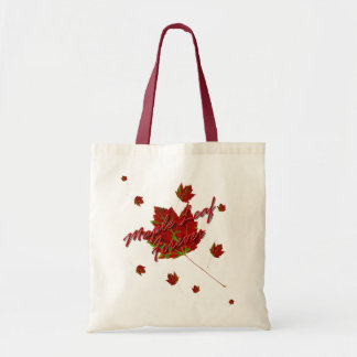 Maple Leaf Forever Tote Bag