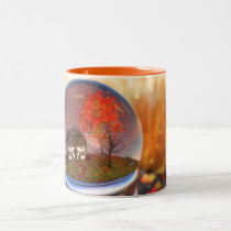Maple Leaf Globe Mug