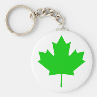 Maple Leaf Green Transp The MUSEUM Zazzle Gifts Keychains