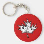 Maple-Leaf Keychain