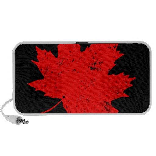 Maple Leaf Laptop Speakers