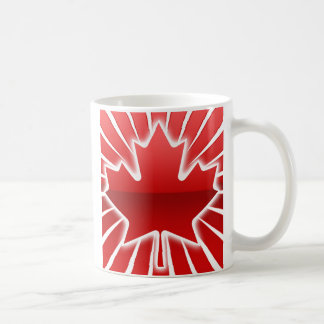Maple Leaf Morning Classic White Coffee Mug